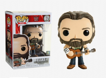 Funko Pop! Vinyl WWE Elias with Guitar Figure